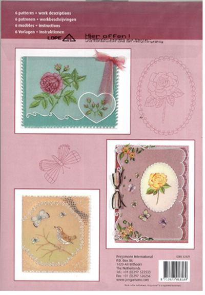 Pergamano Pattern Booklet - Botanical Flower Fun