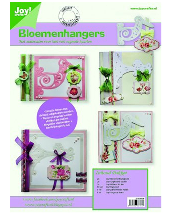 Card Kit - Flower Pendants