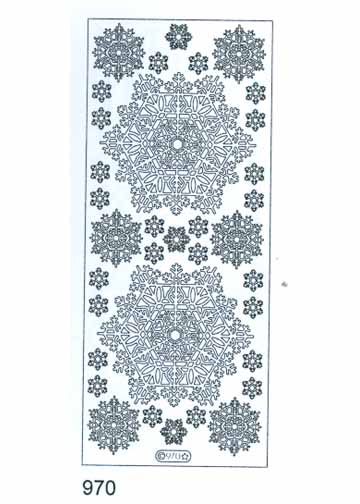 Deco Stickers - Snowflake