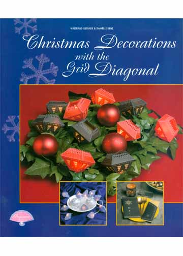 Christmas Decorations with diagonal grid