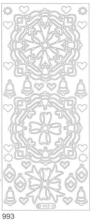 Deco Stickers - Bells & Bows