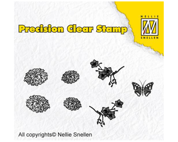 Nellie's Choice Precision Stamps - Dandelion
