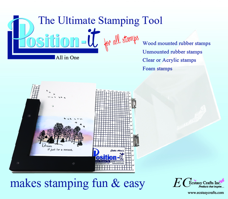 Ecstasy Crafts The Position It 2 - The Ultimate Stamping Tool