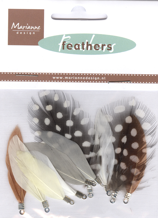 Marianne Design Feathers: natural