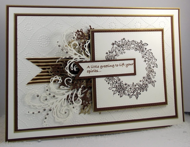 Camellia Ring Elements Stamp Set