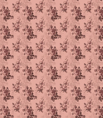Pink Rose Mid Decoupage Papers