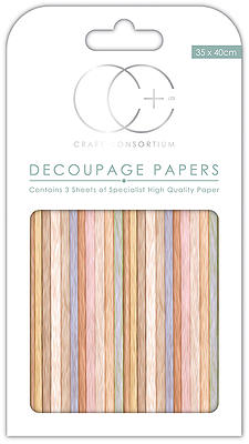Drift Wood Decoupage Papers