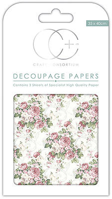 Creative Expressions English Rose Garden Decoupage Papers