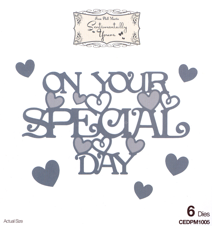 Phill Martin Sentimentally Yours: From the Heart Collection: On Your Special Day