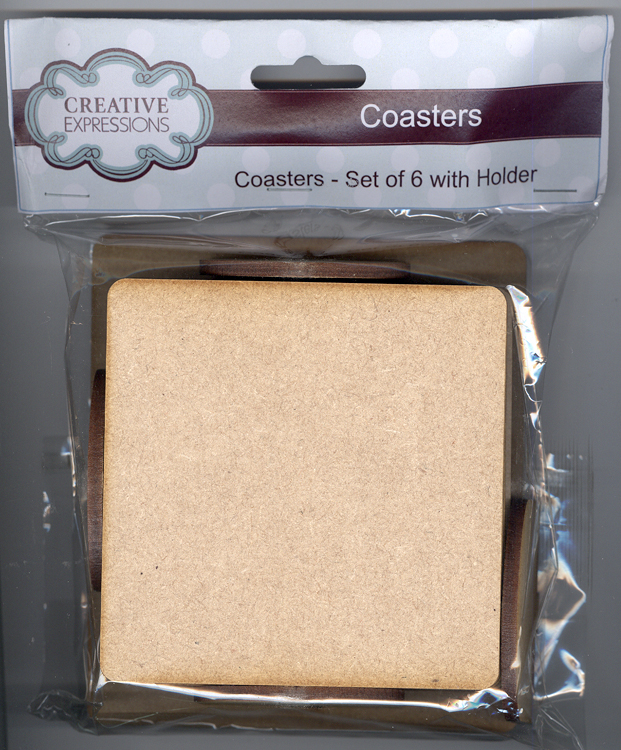 Creative Expressions Mdf Coaster Set