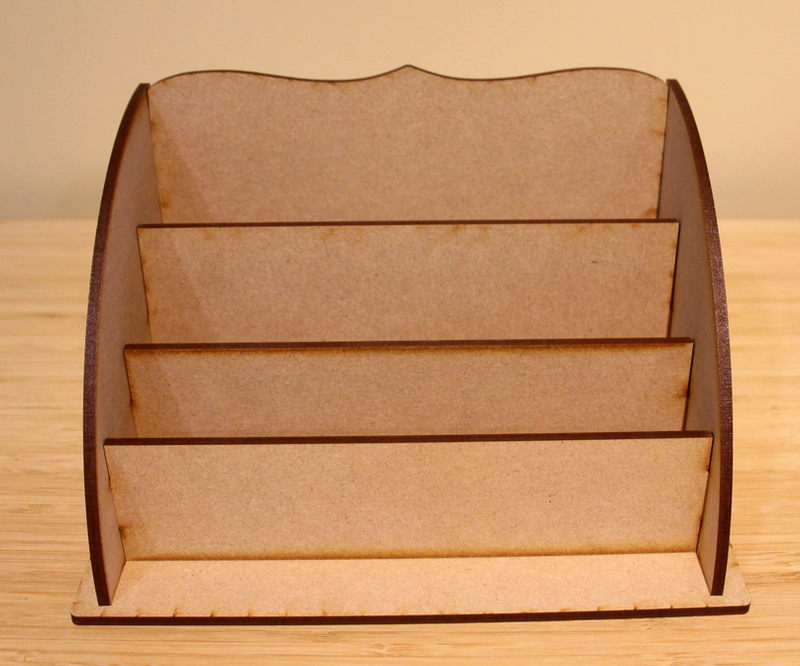 MDF Large Desk Organizer