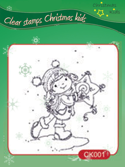 Clear Stamps - Christmas Kids - My Star