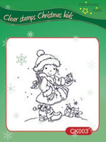 Clear Stamps - Christmas Kids - Christmas Birdie