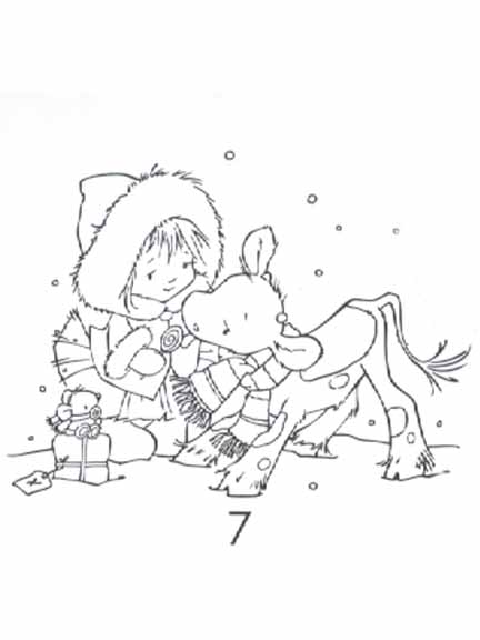 Clear Stamps - Koetie - Child
