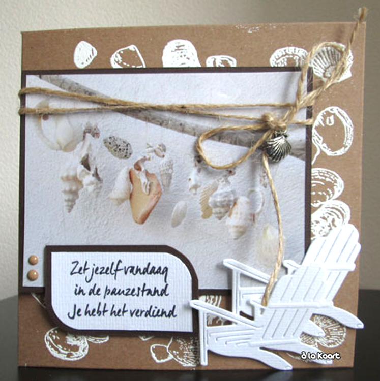 Marianne Design Background Stamp - Tiny's Seashells