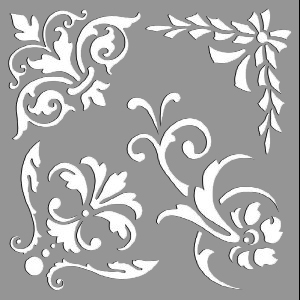 Creative Expressions Mask - Ornate Elements