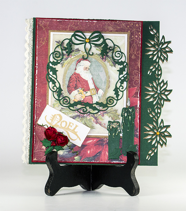 Cutting and Embossing die - wreath