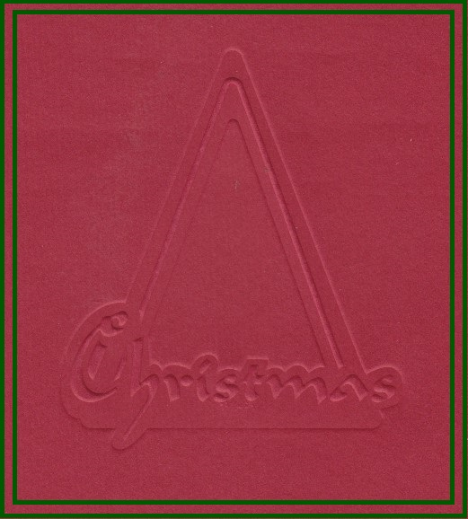 Text Stencil - Merry Christmas