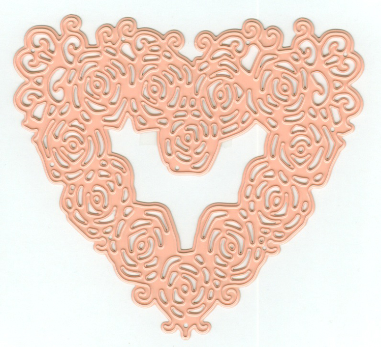 Tessler Crafts Dies - Rose Heart