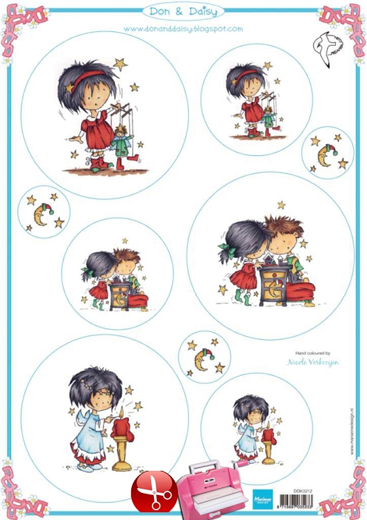 Marianne Design Don & Daisy - Cutting Print Christmas -2