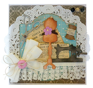 Couture Creations Die - Sewing Kit
