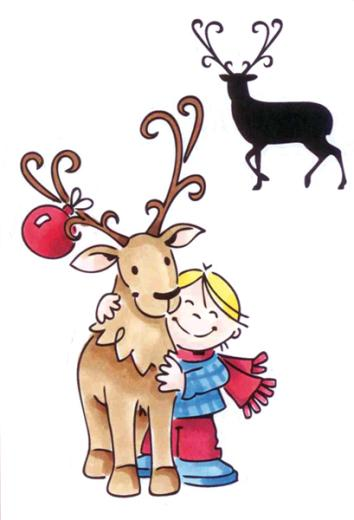 Marianne Design Clear Stamps - Reindeer