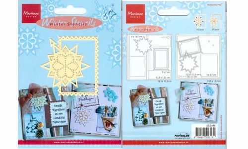 Winter Stencils Star