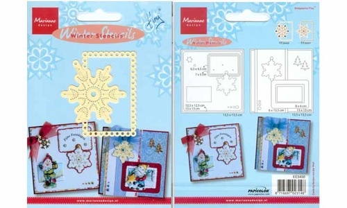 Winter Stencils Snowflake