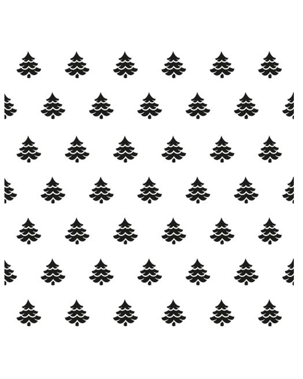 Background Embossing Folder - Christmas Trees