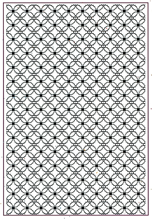 Embossing Folder A4 - Tied Holly