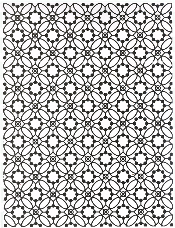 Creative Expressions Emboss Folder Victorian Tile