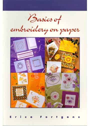 Ecstasy Crafts Embroidery On Paper Book