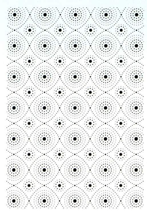 Emboss Folder Beaded Quilted Circles
