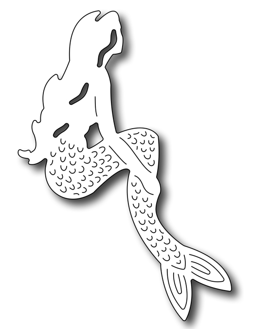 Frantic Stamper Precision Die - Mermaid