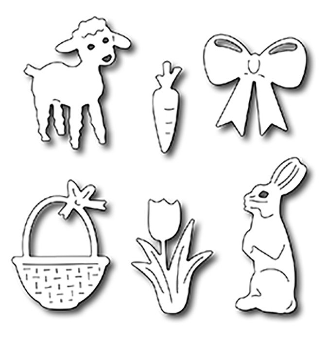 Frantic Stamper Precision Die - Easter Icons (6)