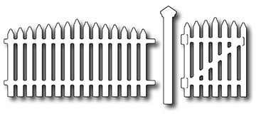 Frantic Stamper Precision Die - Picket Fence (set of 3 dies)