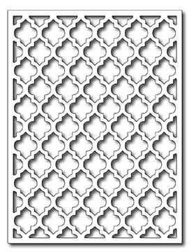 Frantic Stamper Precision Die - Saharan Screen Card Panel
