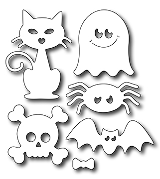 Frantic Stamper Precision Die - Cute Halloween Icons