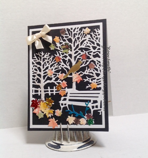 Frantic Stamper Precision Die - Autumn in the Wildwoods