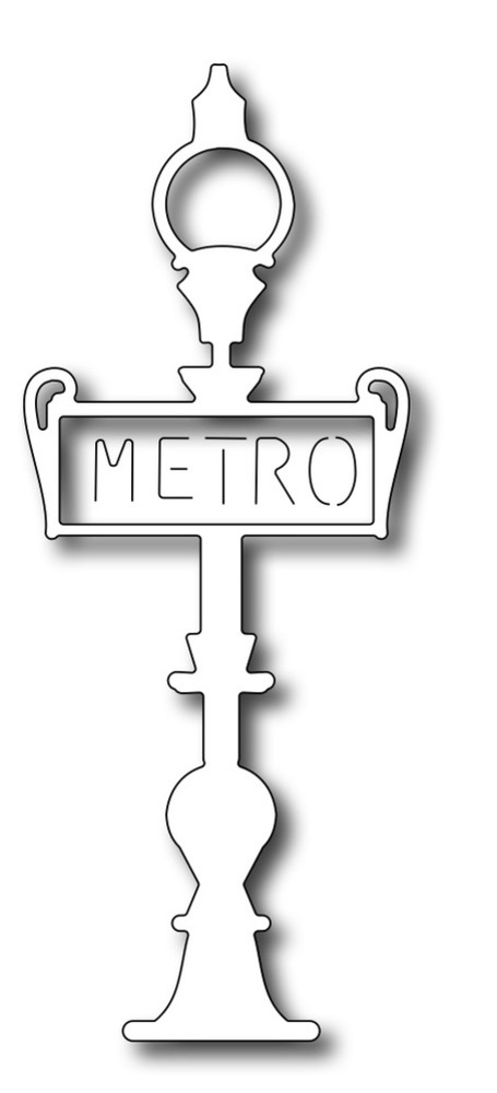 Frantic Stamper Precision Die - Metro Sign