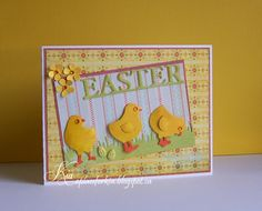 Frantic Stamper Precision Die - Block Easter