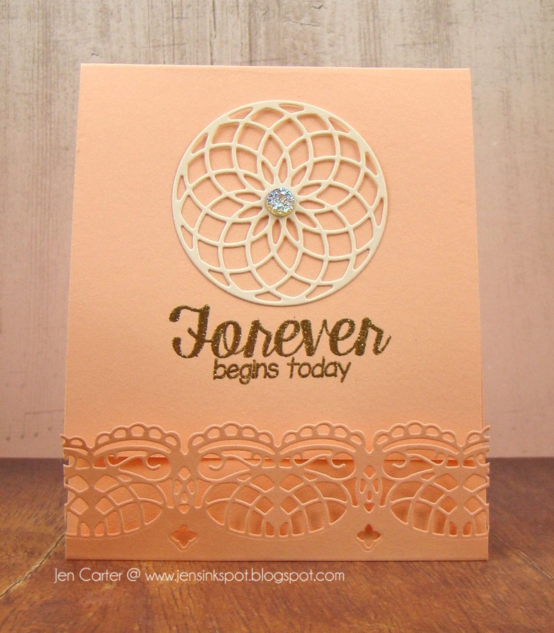 Frantic Stamper Precision Die - Lacey Edger