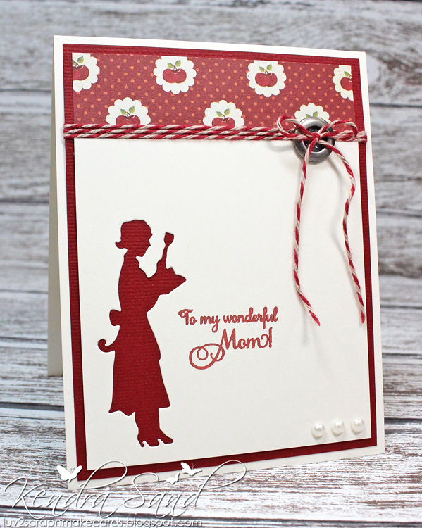 Frantic Stamper Precision Die - Retro Mom in the Kitchen