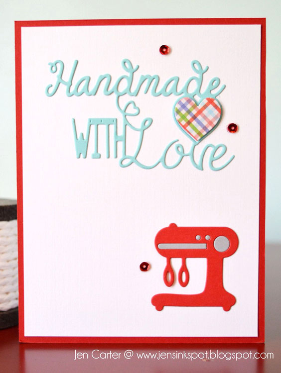 Frantic Stamper Precision Die - Handmade with Love