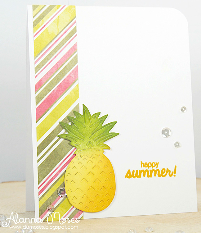 Frantic Stamper Precision Die - Pineapple