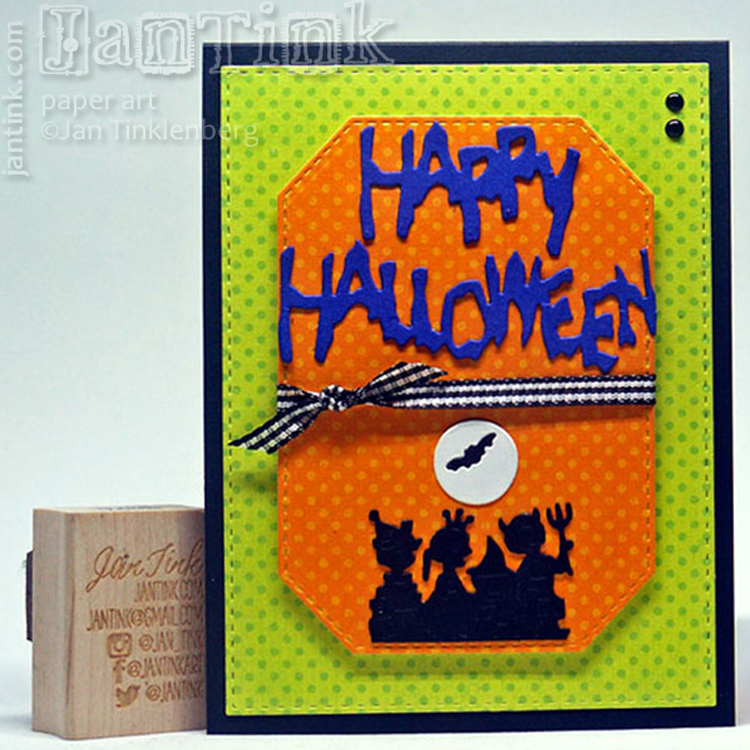 Frantic Stamper Precision Die - Spooky Happy Halloween