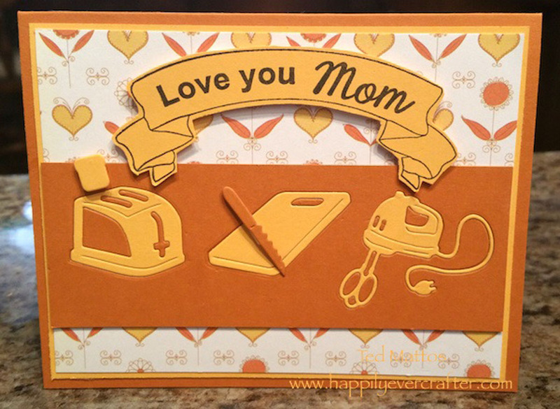 Frantic Stamper Clear Stamp Set - All In The Family