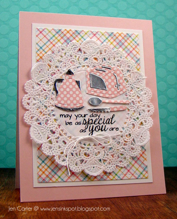 Frantic Stamper Clear Stamp Set - Motherly Love