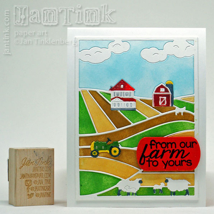Frantic Stamper Clear Stamp Set - Hogs & Kisses