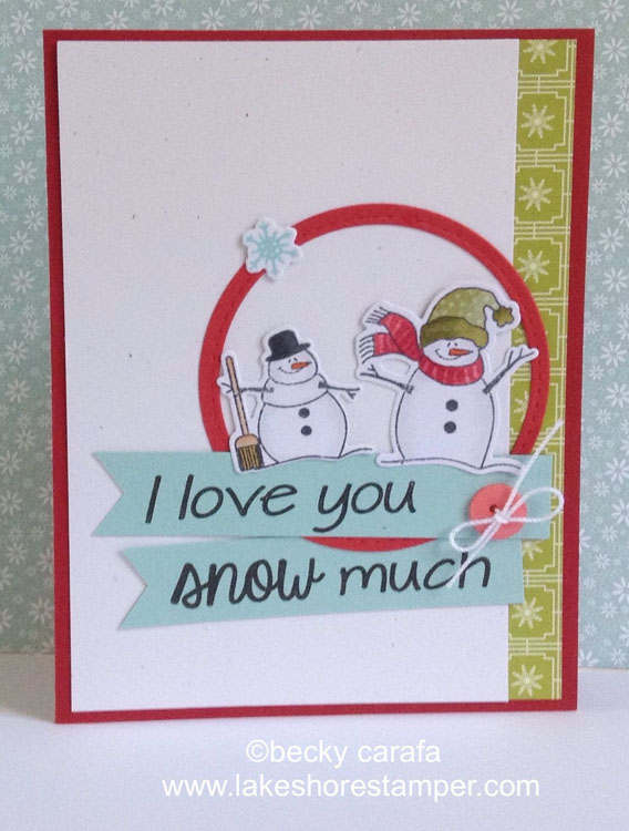 Frantic Stamper Clear Stamp Set - Snow Much Fun